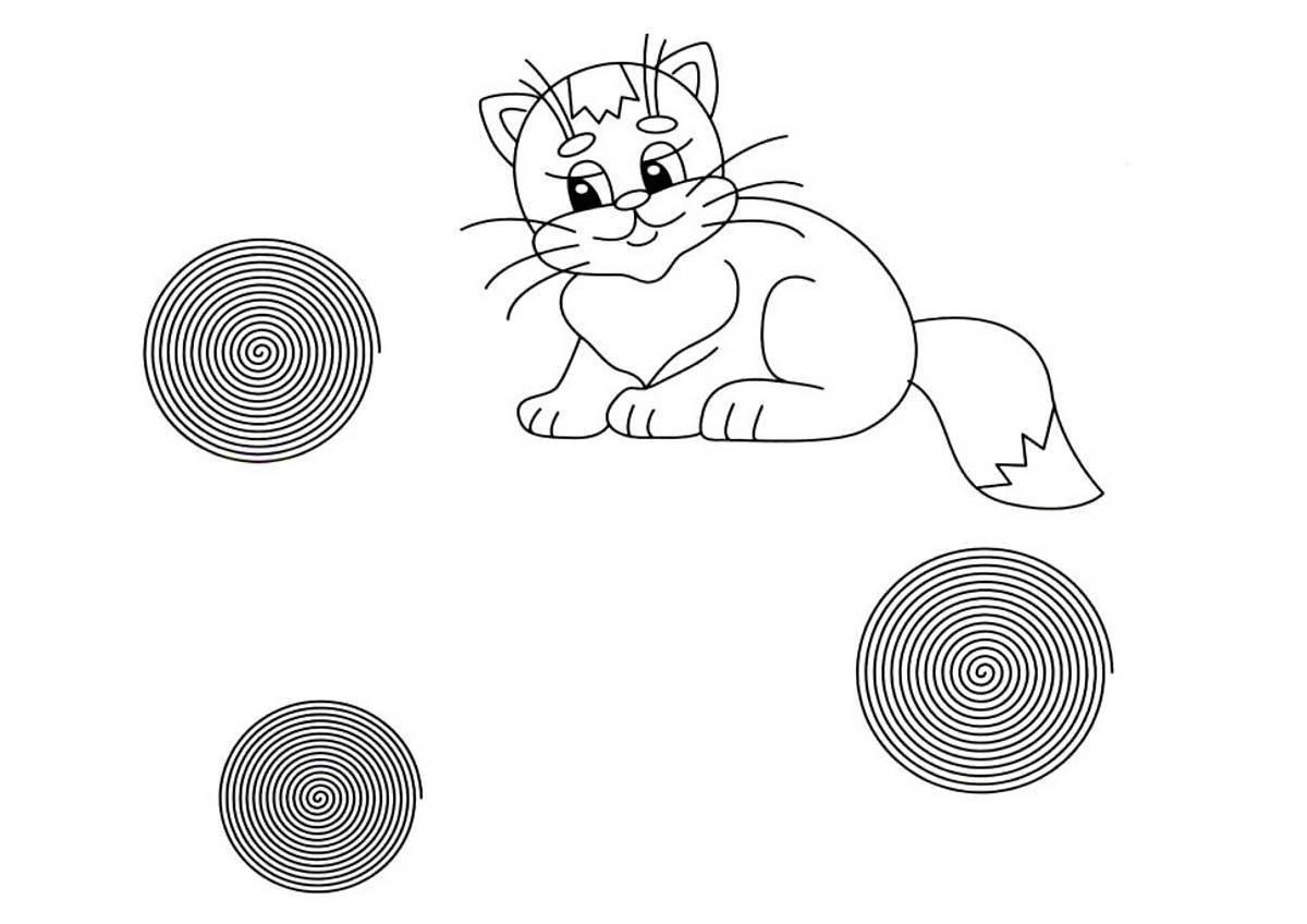 картинки клубочки для котенка уточнить цены