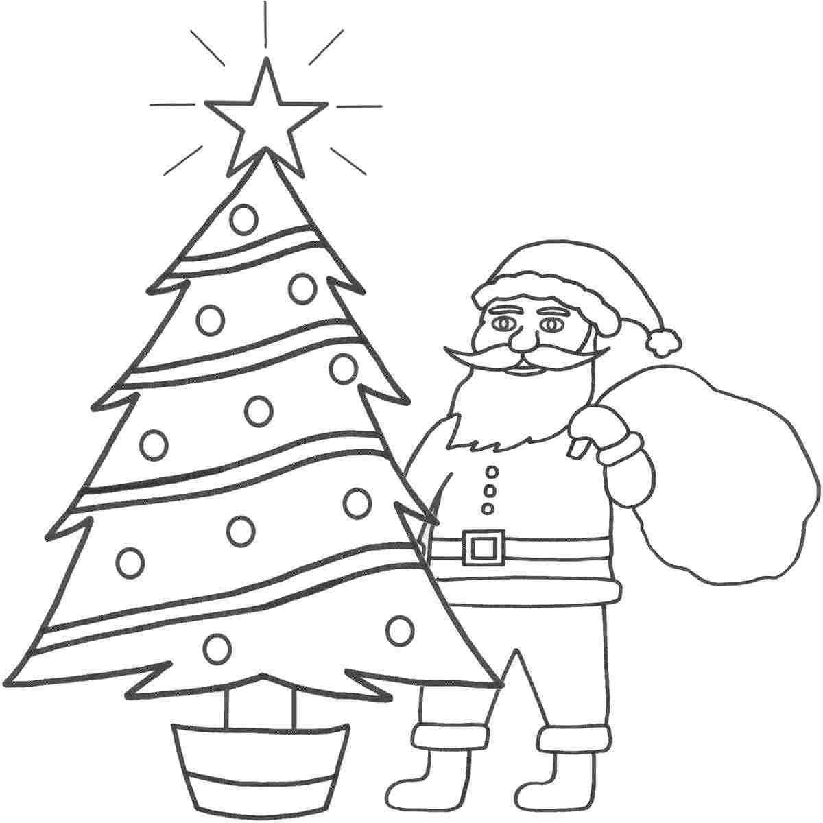 новогодние картинки для рисования карандашом надписями вдв