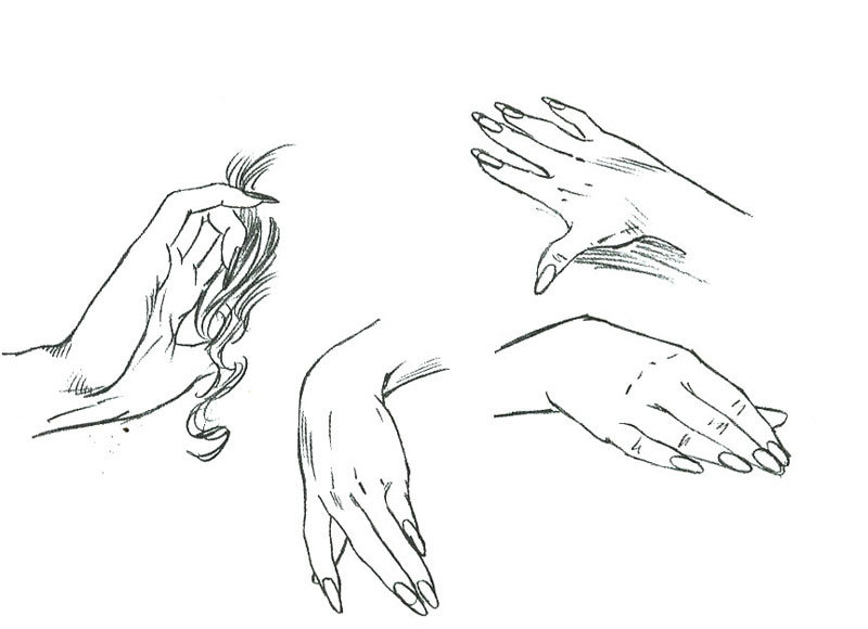 Картинки рук поэтапно