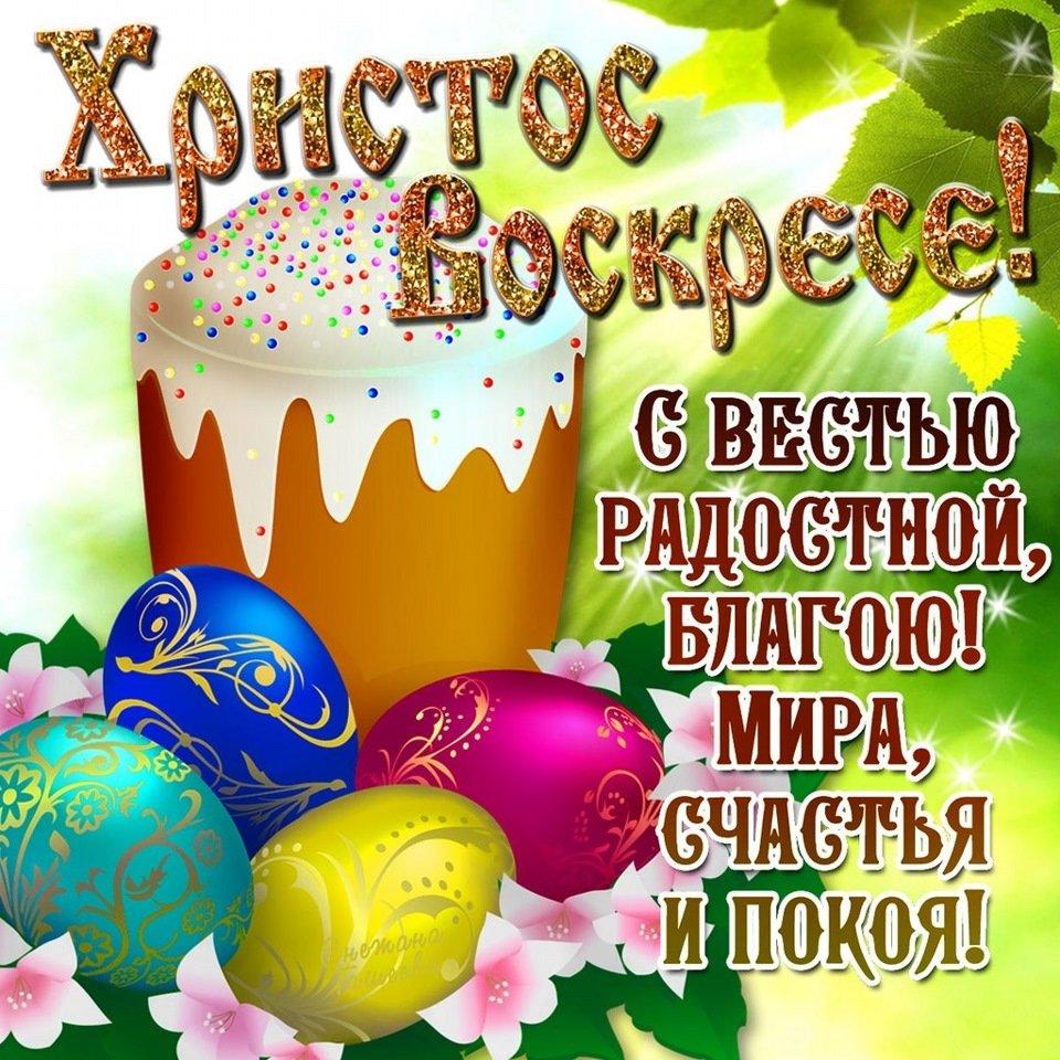 Для открытки, поздравления к пасхе картинки на русском