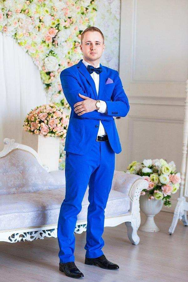 3c0b4f8a040f Костюм Мужской Синий На Свадьбу Фото