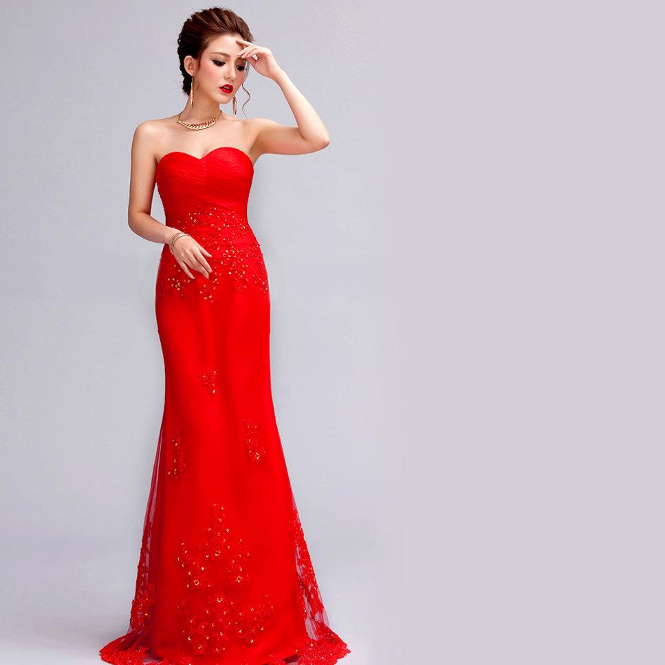 длинные красные вечерние платья в картинках нашей фотостудии есть