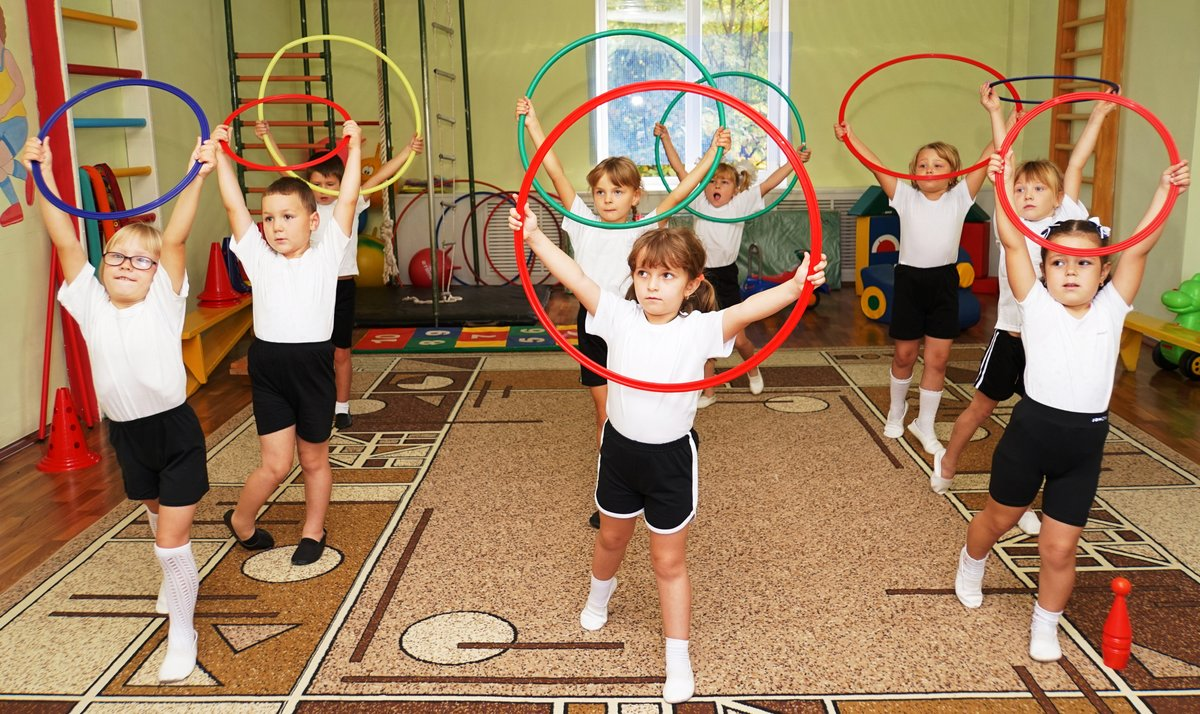 Картинка физкультура у детей