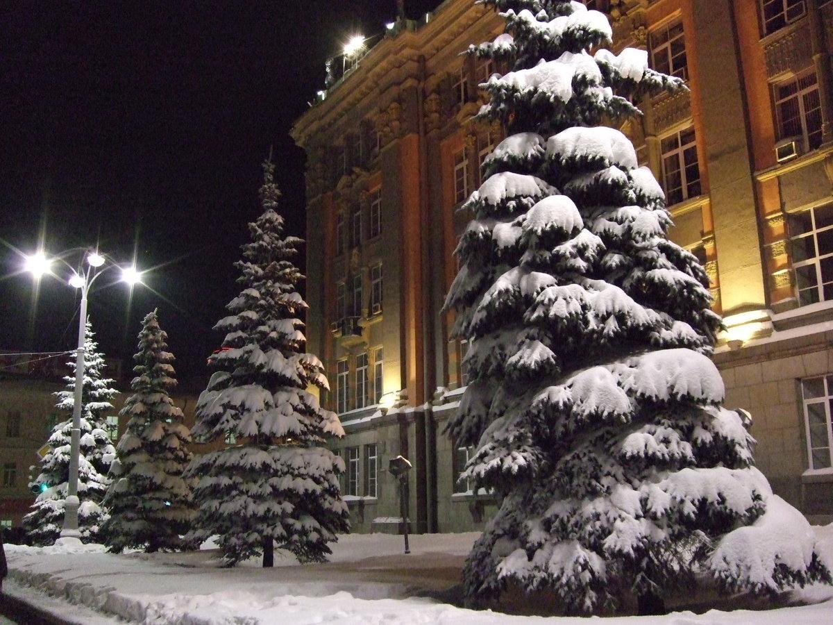 Фото в екатеринбурге зимой