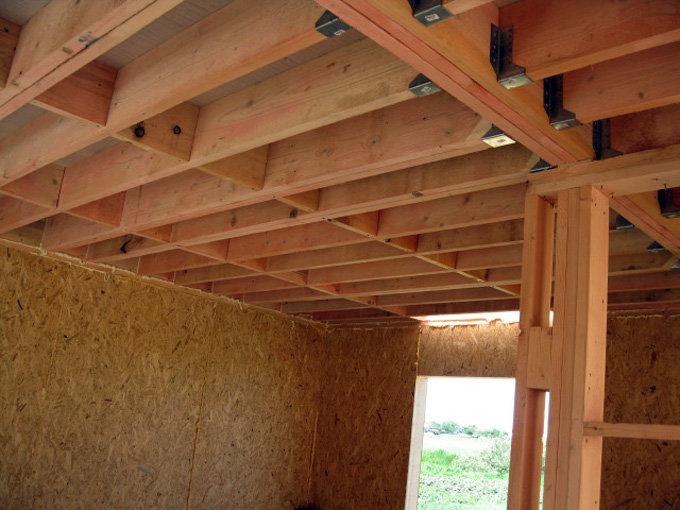 деревянные перекрытия в частном доме