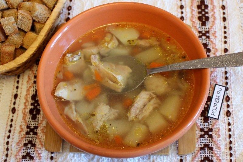 Рецепт супа из индейки для ребенка