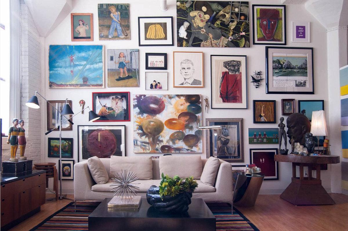 Картинки и картины в интерьере