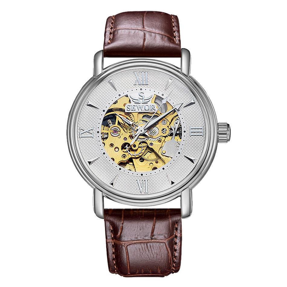 Элегантные часы no logo в офисном стиле  обхват запястья 19 см.