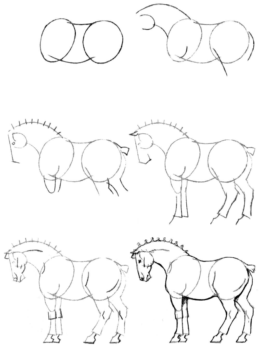 Как нарисовать открытку поэтапно карандашом для начинающих