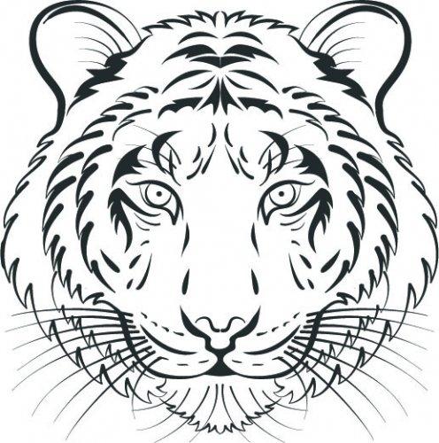 тигр картинки для выжигания база отдыха монтажник