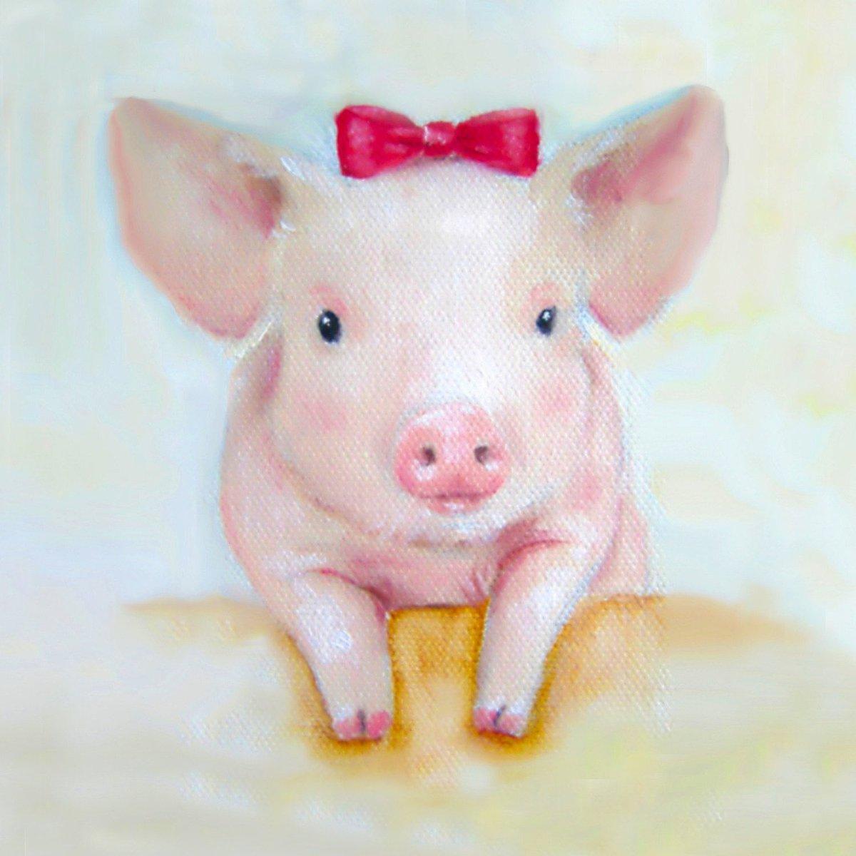 Смешные рисунки про свинок