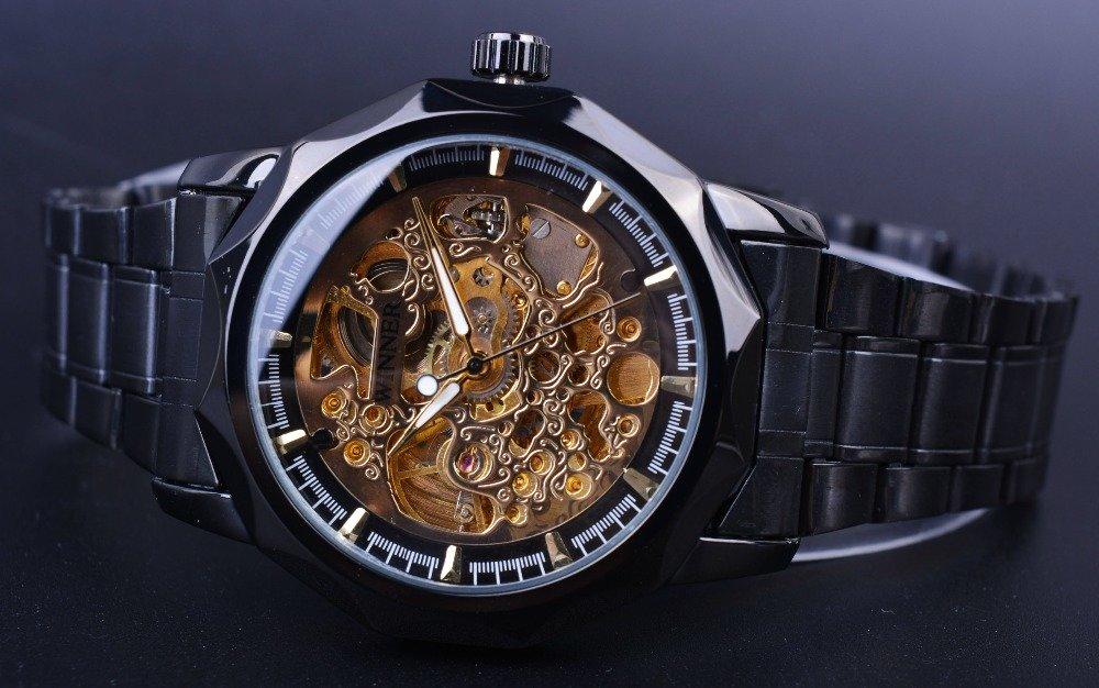 Мужские стильные часы серии спорт с автоматическим заводом.