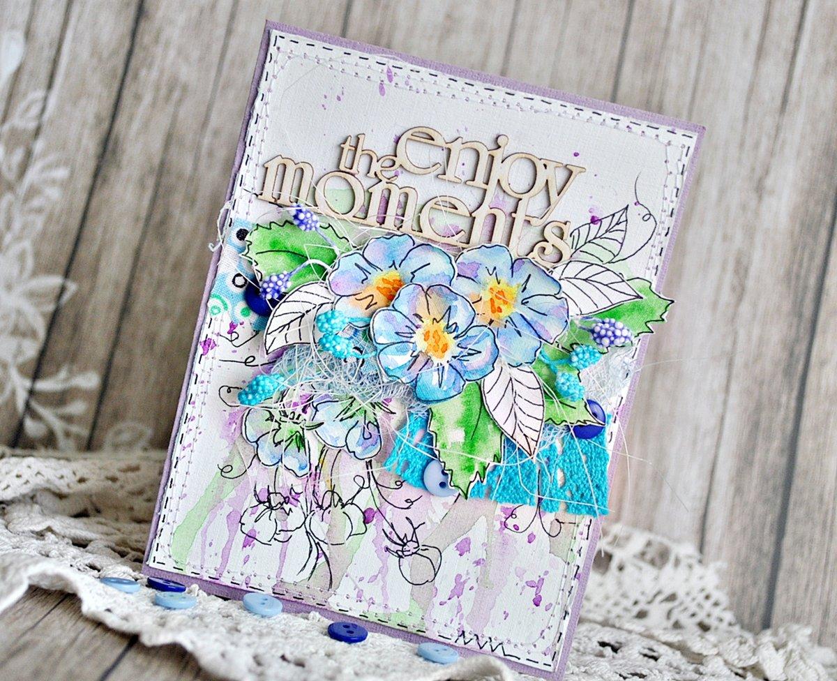 Обложка у открытки, свадьбу