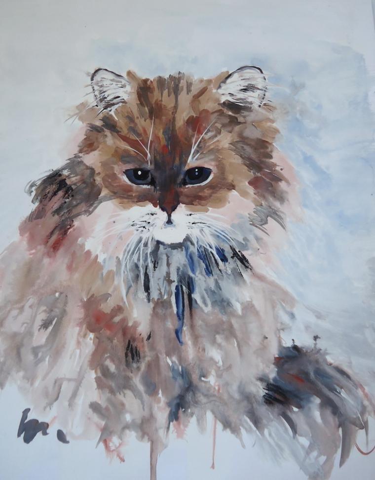 следует при мастер класс коты акрилом самые лучшие опылители