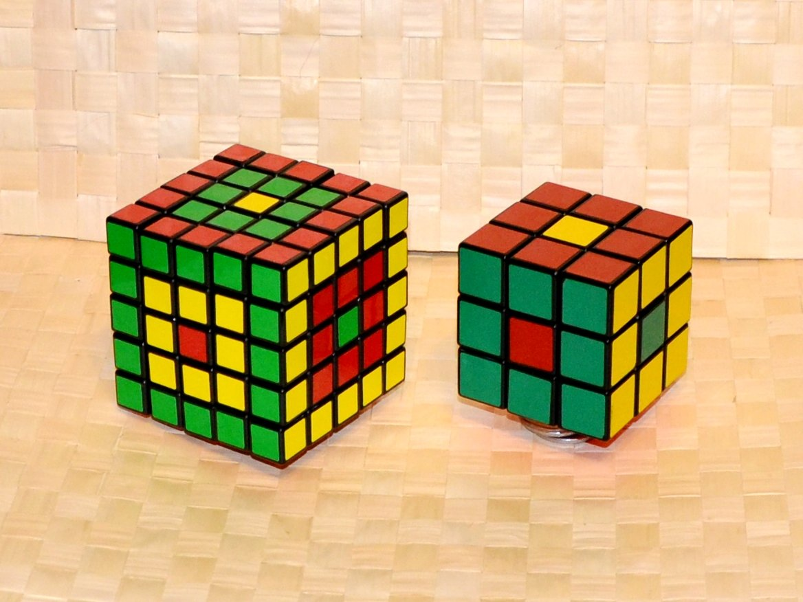 фото узоров на кубике рубика по-другому
