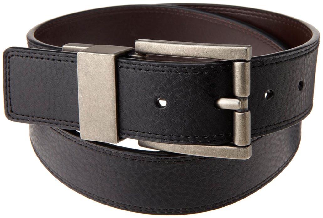 Ремень мужской бренд кожаный ремень мужской 4 см