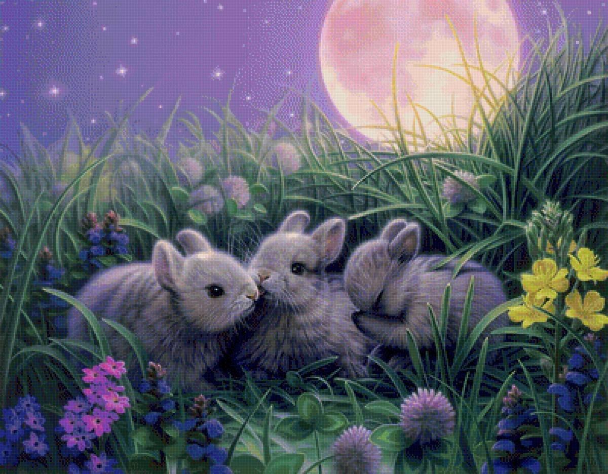 Весенние картинки спокойной ночи