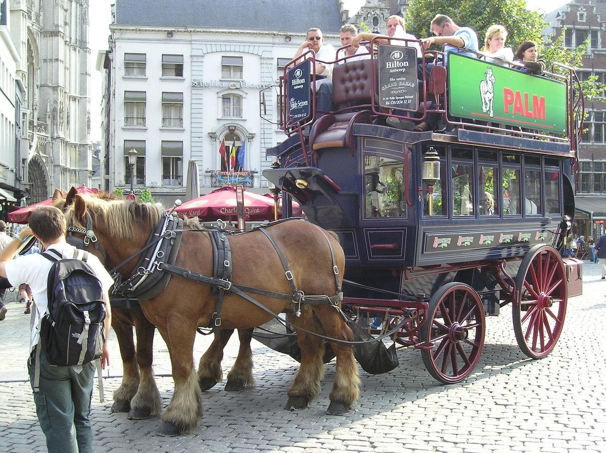 18 марта 1662 г. В Париже начала действовать первая служба общественного транспорта