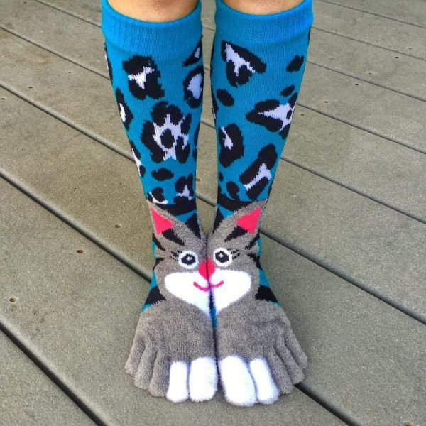 Прикольная картинка носка, массаж
