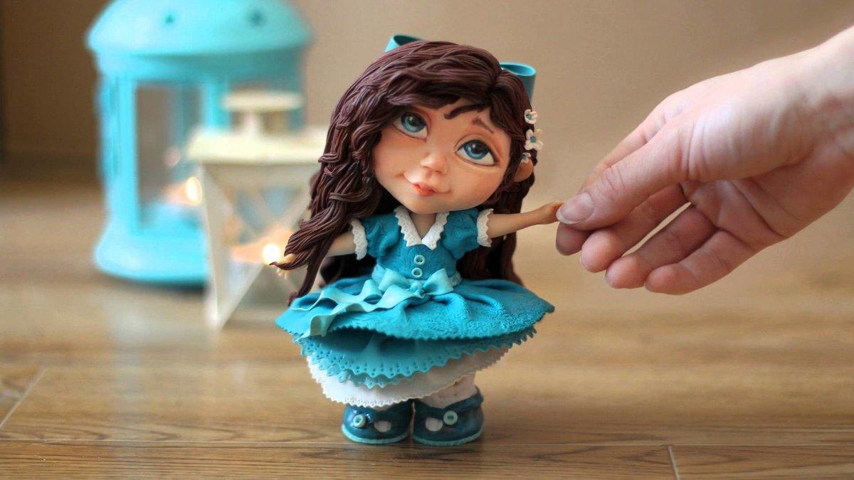 куклы из полимерной глины мастер класс фото любят