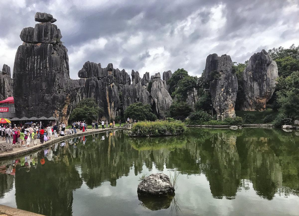 Каменный лес фото китай