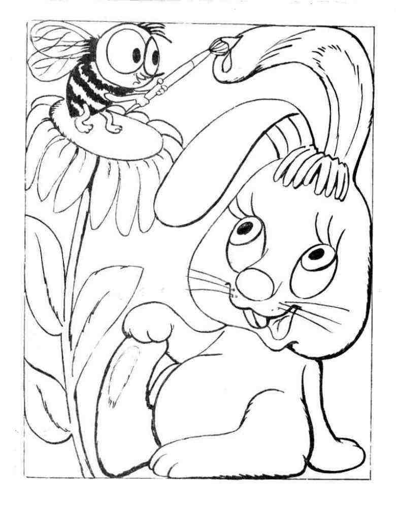 Раскраски из советских мультиков и сказок