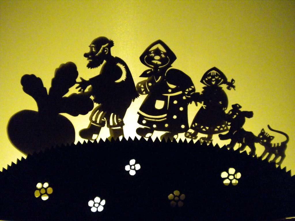 Картинки для театра теней репка