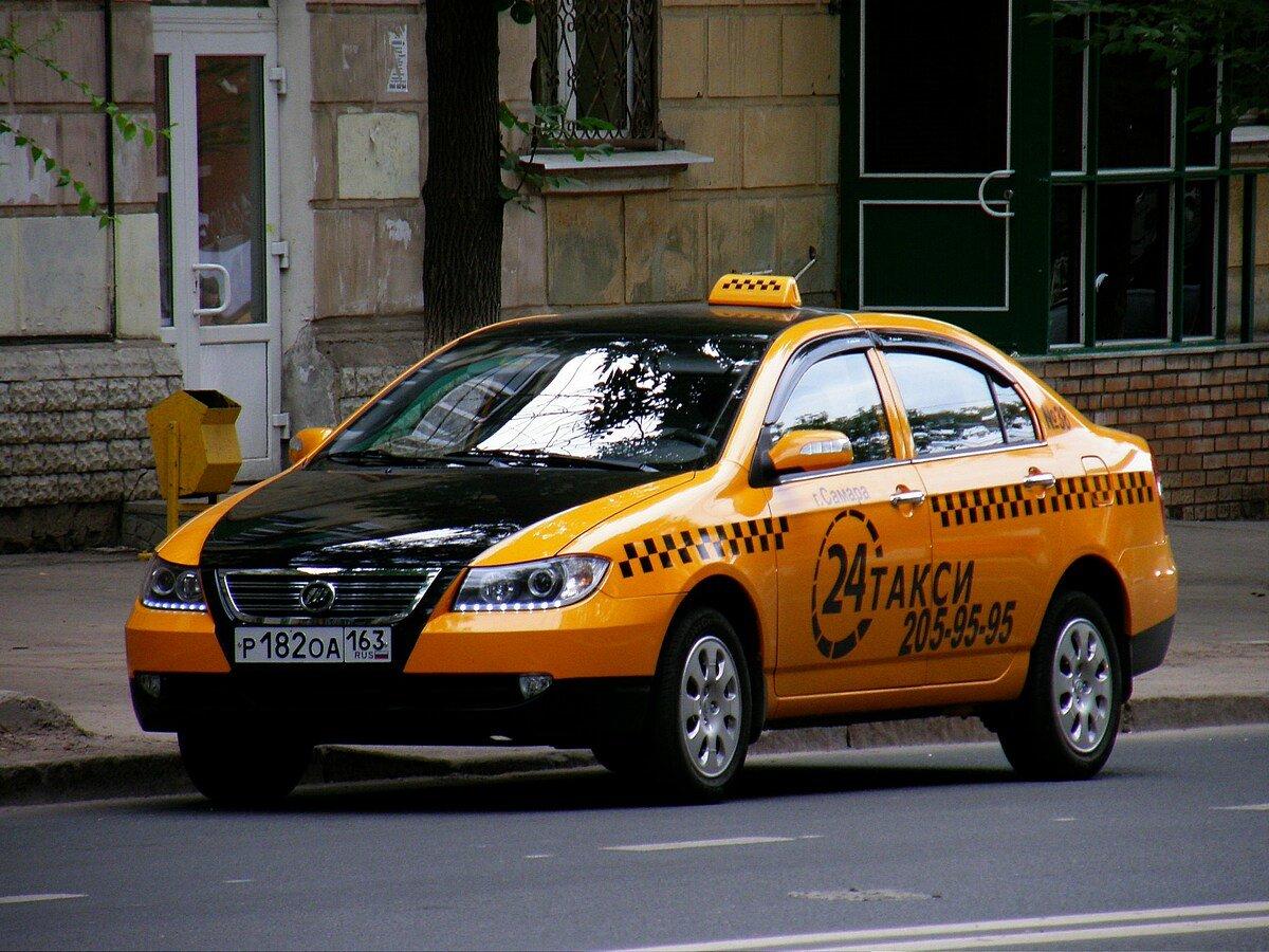 Машинки такси в картинках