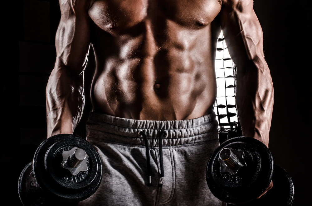 мускулистое мужское тело - 1