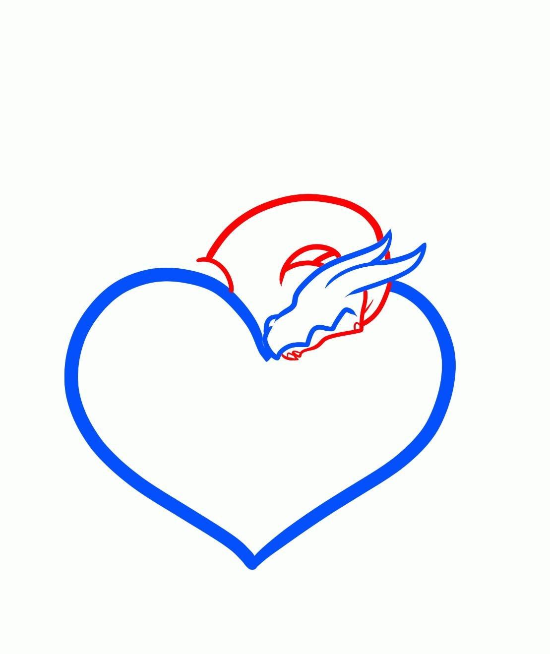 Сердце картинки красивые нарисованные