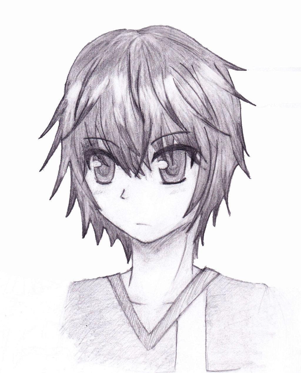 Sketch anime bo
