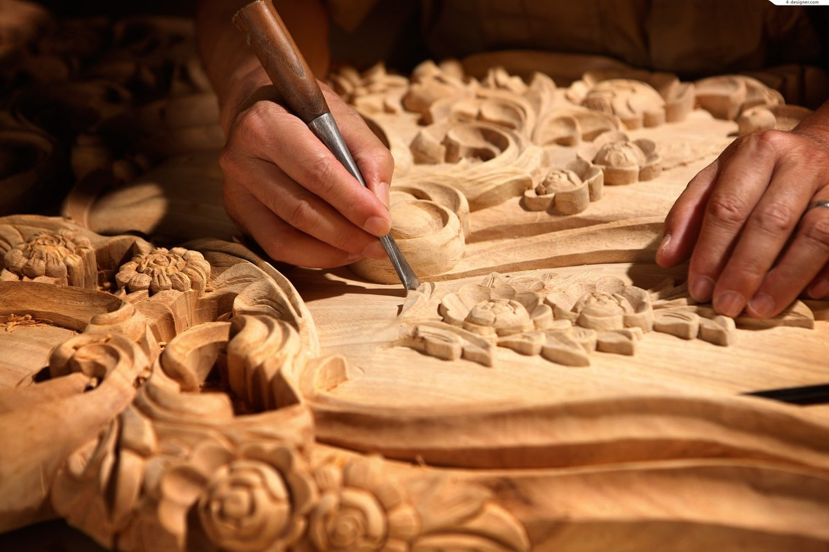 резьба по дереву обработка древесины