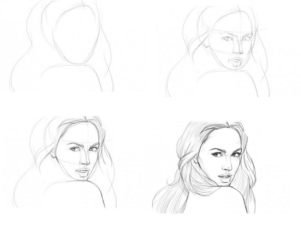 День, рисовать картинки поэтапно для девочек