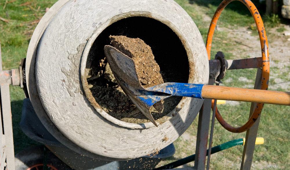 приготовление цементобетона
