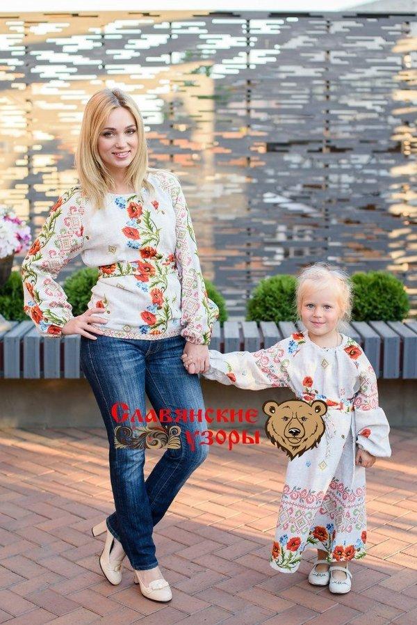 5c641181eb5d Платье для девочки Маковое - Интернет магазин женской и детской одежды