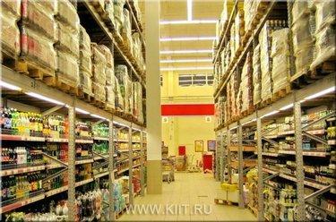 полки на склад магазина