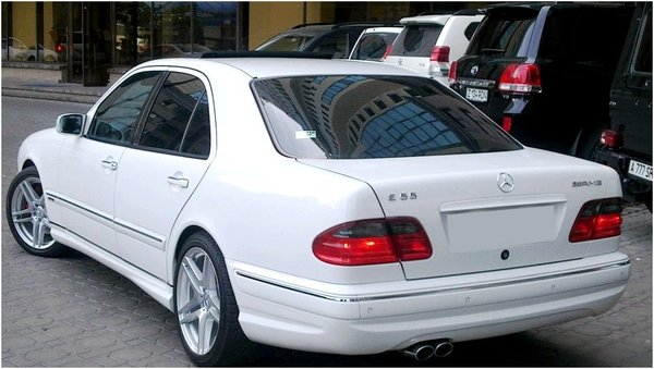 Mercedes Benz w210 Е55 AMG body kit 1995-1999