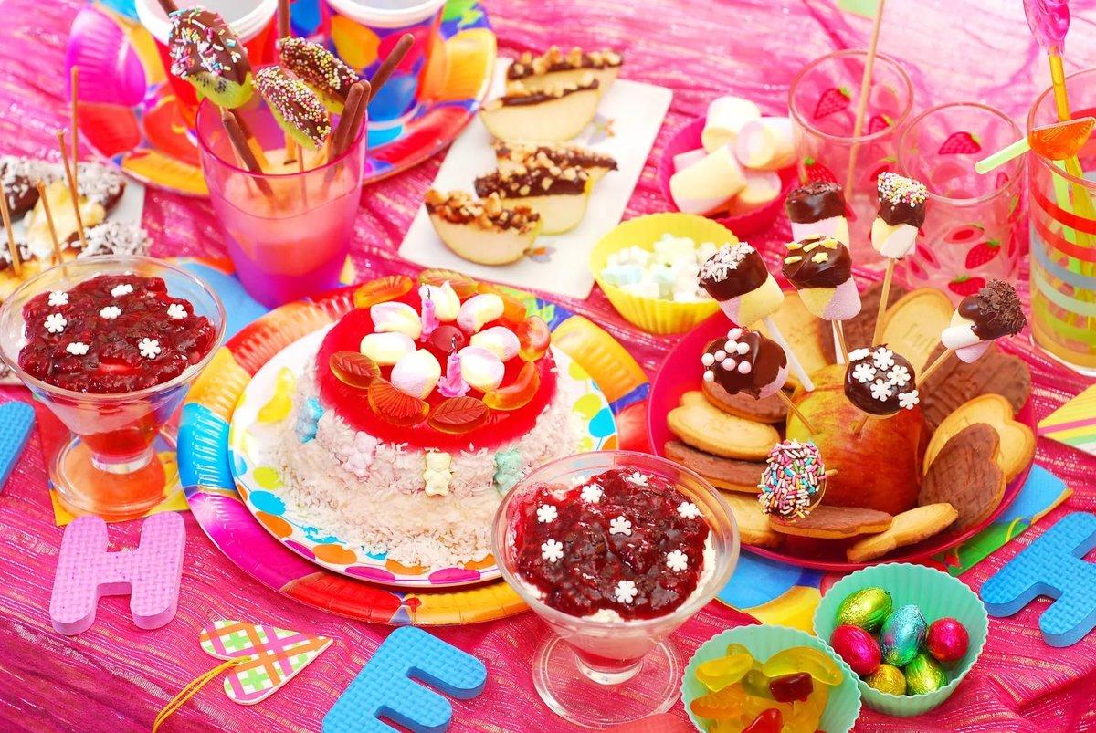 Пример детского дня рождения