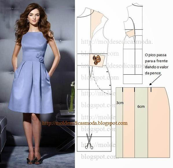 модели платьев с выкройками и схемами фото надо