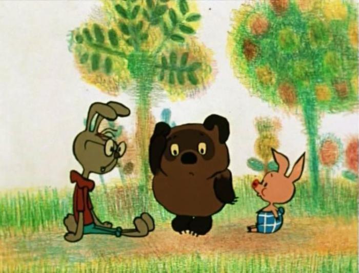 Картинки винипуха из советского мультфильма