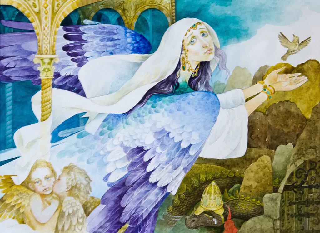 Картинки из татарских сказок
