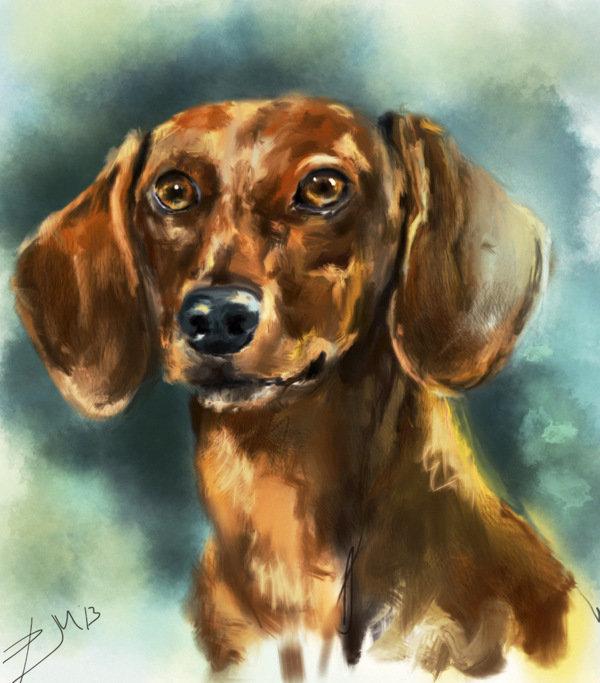 рисунки такса собака тату подчеркивает женственность