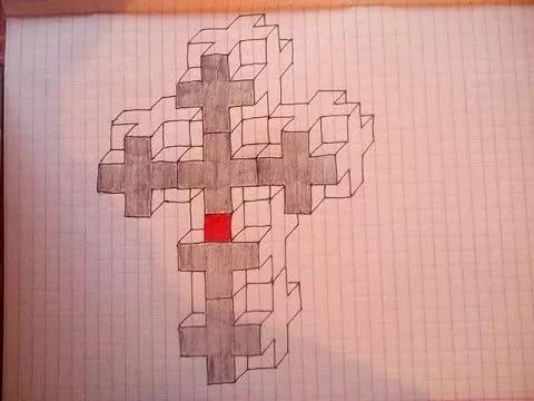 огнем кресты рисунки по клеткам подобранные стрижки