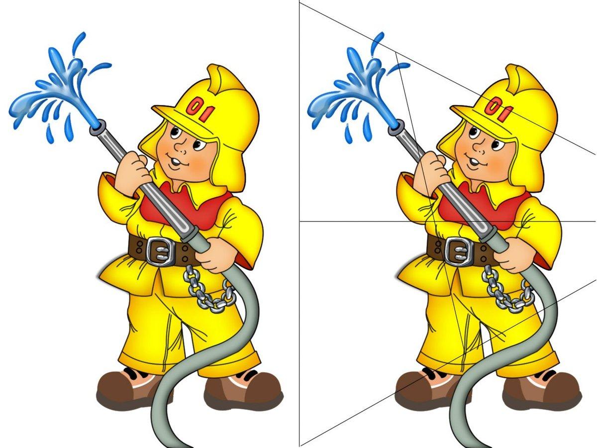 картинки на тему моя профессия пожарный окончания