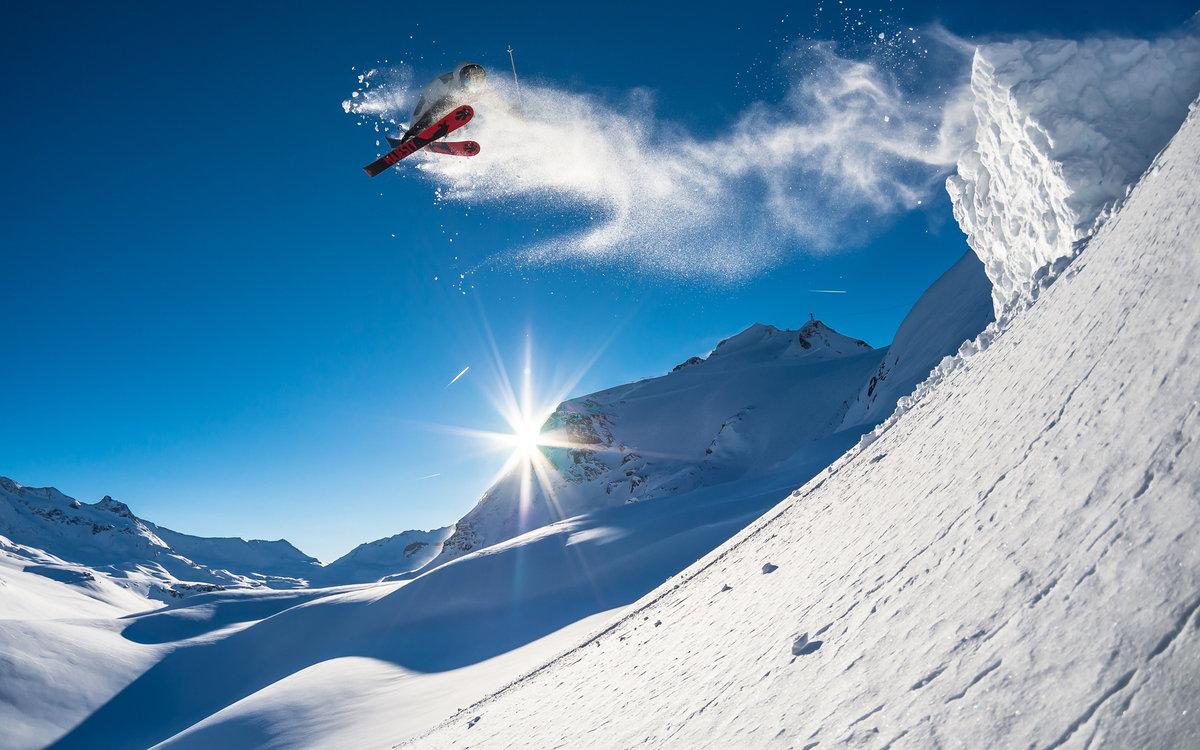 Ракетных, картинки горнолыжника на фоне природы
