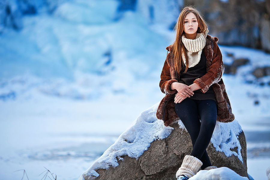 Создаем теплую фотографию в условиях зимы