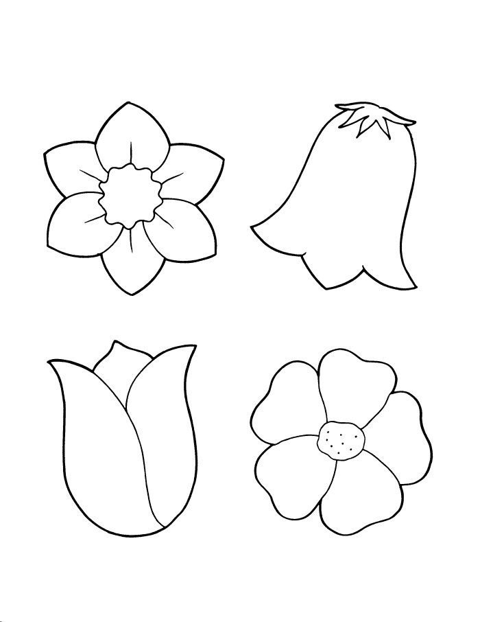 Шаблоны цветочек для вырезания из бумаги распечатать, хочу тебе сказать