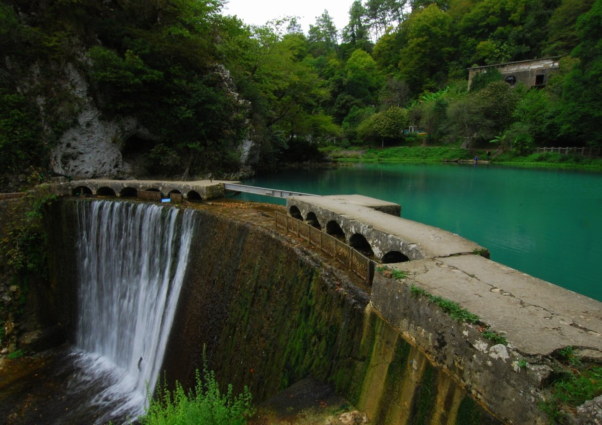 Картинки водопады в абхазии