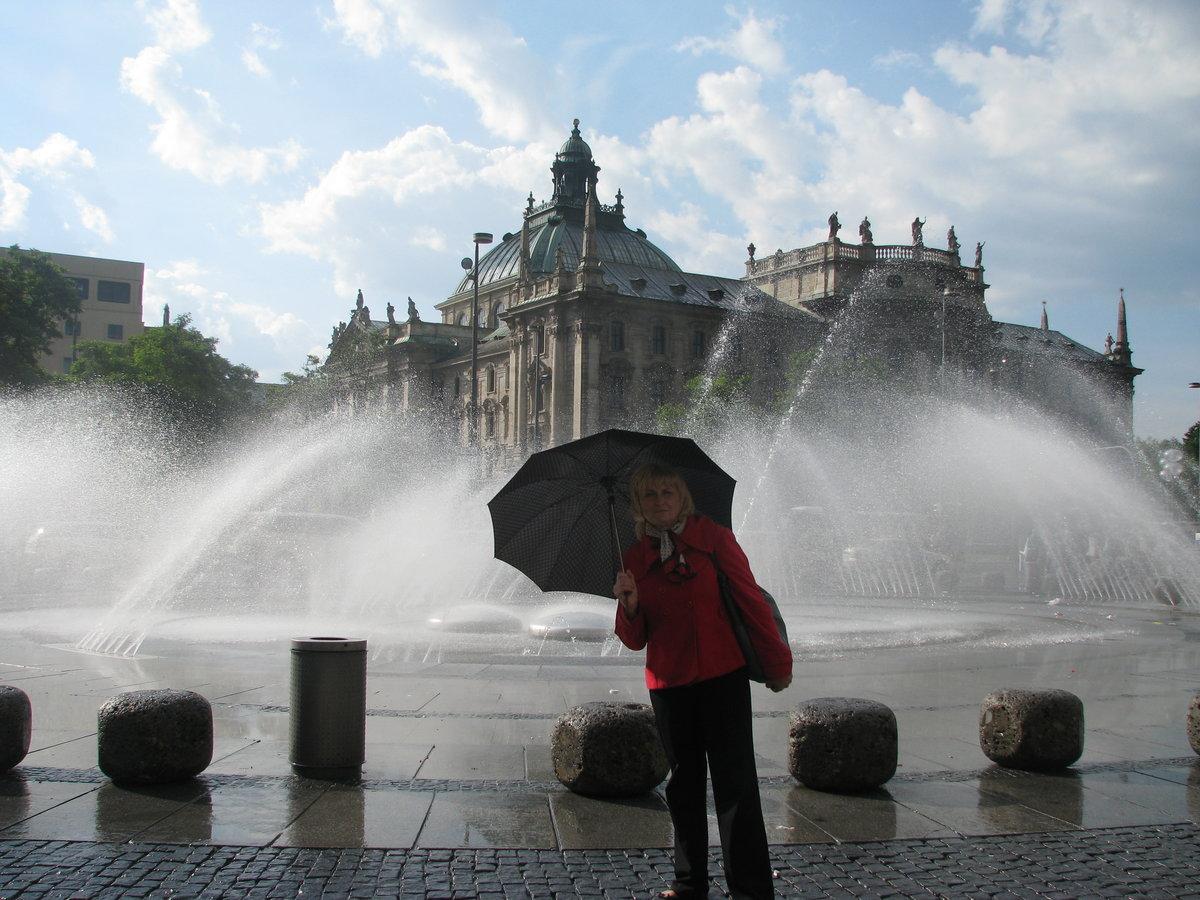 Фото фонтаны мюнхена