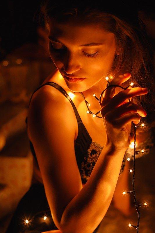 как сделать фото с огоньками американка сочла